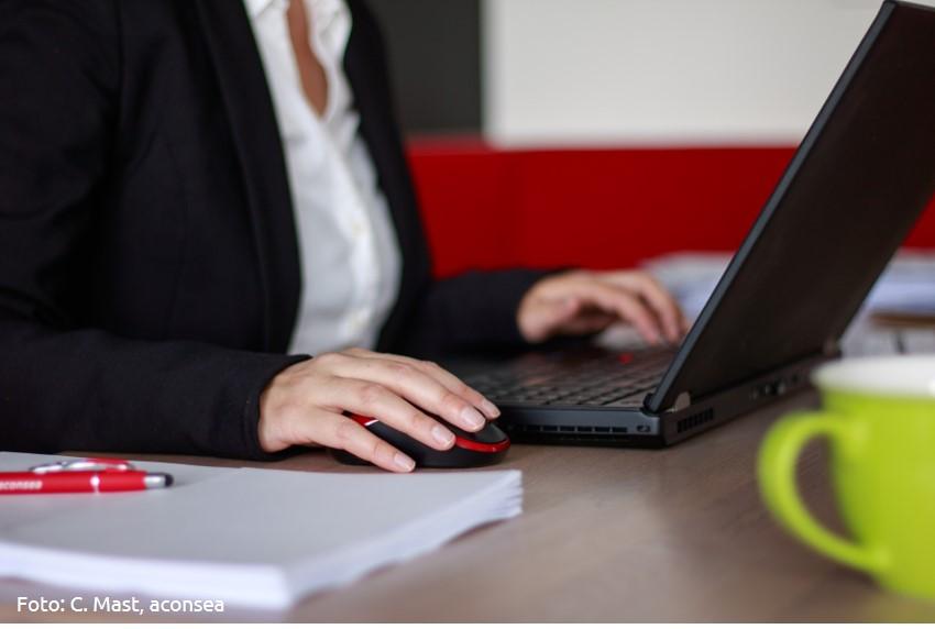 New Work Büro Foto Digitalisierung