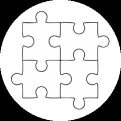 Neue Bürokonzepte Piktogramm