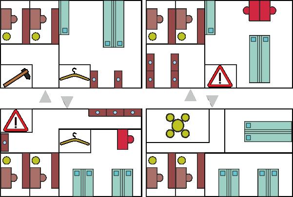 Schemaskizze Department-Labor