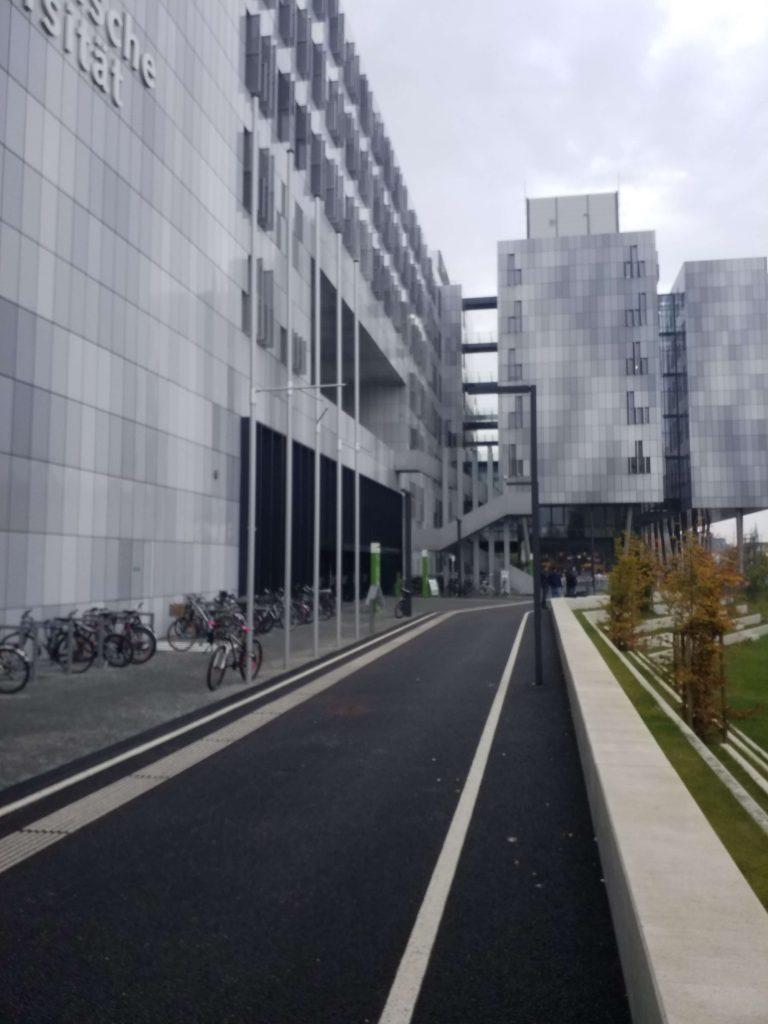 Lehr- und Lernwelten bei einer Uni in Graz