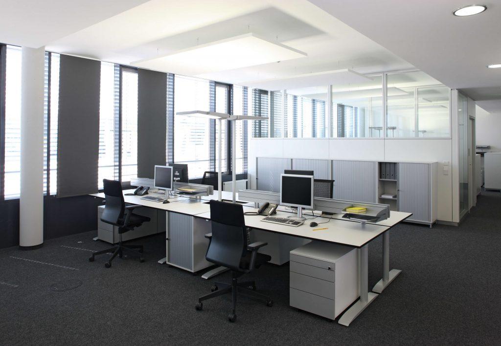 Büro Praxisbeispiel Landesmesse Stuttgart